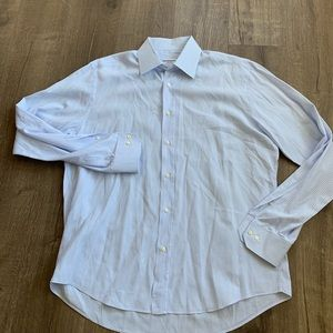 Yves Saint Laurent dress shirt sz 17 1/2 - 44 (XL)